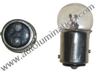 #1007, 1007, 21/5 Watt, 12v 21/5w, LLB B1007, Harley Davidson, G18, G18.5, MINIATURE BULB Bay15d BASE, G6, G121, G121.5, 6.5 Volt, .5 Amp, G-6, Dual Contact (SC) Bayonet (Bay15d) Base, C-6 Filament Design, 6.0 MSCP, 1.44