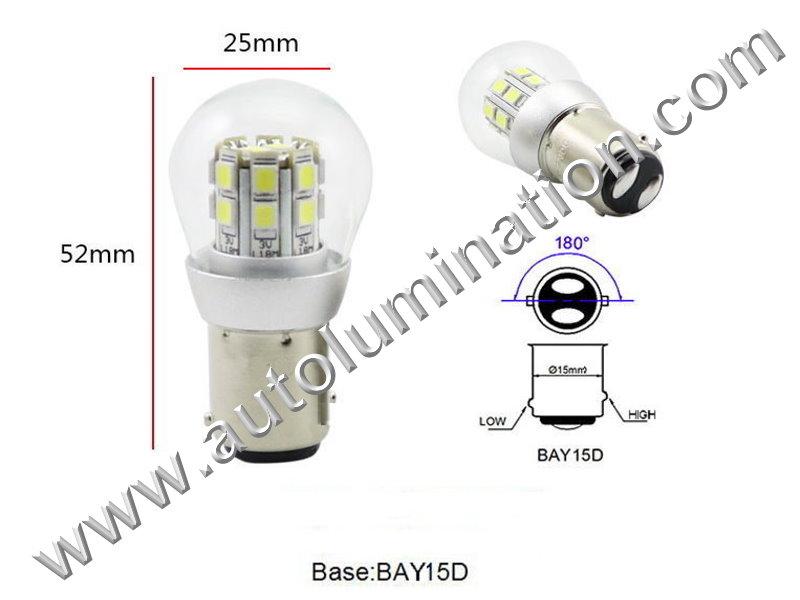 1154 Bay15d 16X Dome 6V