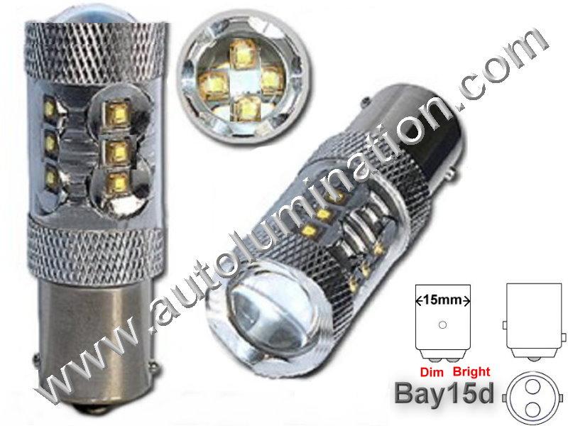 1154 Bay15d Optical Eagle Eye Tower 80 Watt 16X Cree 6V