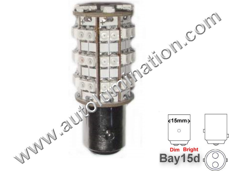 1154 Bay15d 60SMD Tower 6V