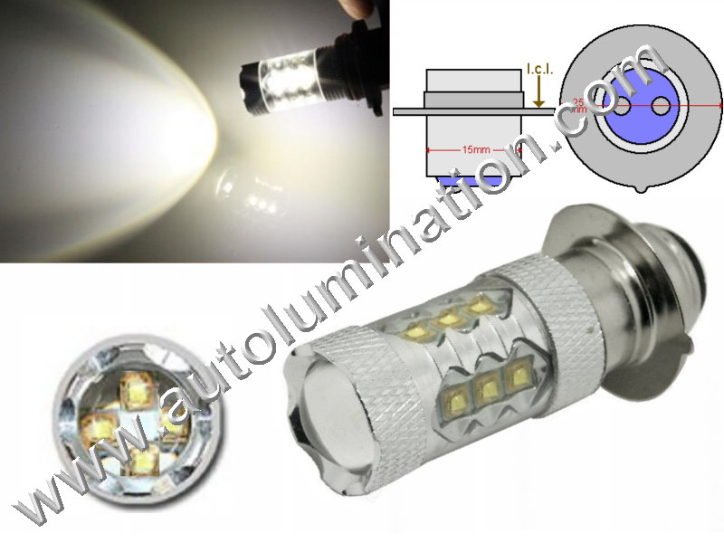 3625 Px15d Optical Eagle Eye Tower 80 Watt 16X Cree 6V