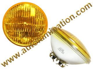 Sealed Beam, PAR 46, 4012A. 4012APR. H4012A, Headlight, Head Light Bulb, Glass Halogen, 6 Volt, 5-3/4 Inch Round, 5.75