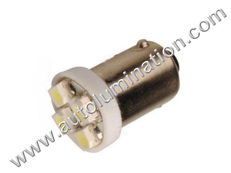 44 G3-1/2 Ba9s 6V 4star Led Bulb
