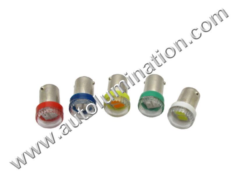 44 G3-1/2 Ba9s 6V 3x 5630 Led Bulb