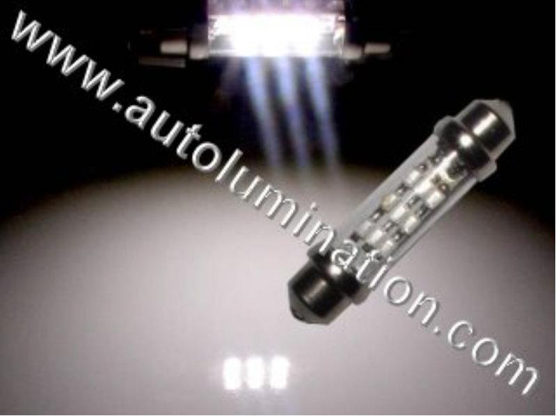 6 Volt 253,6415,6416,6844,7594 39mm Festoon 9led 3014SMD 6 Volt Bulb