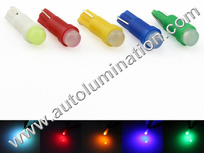 6 Volt 16,79,84,86,79 T5 Wedge 1led Cob 6 Volt Bulb