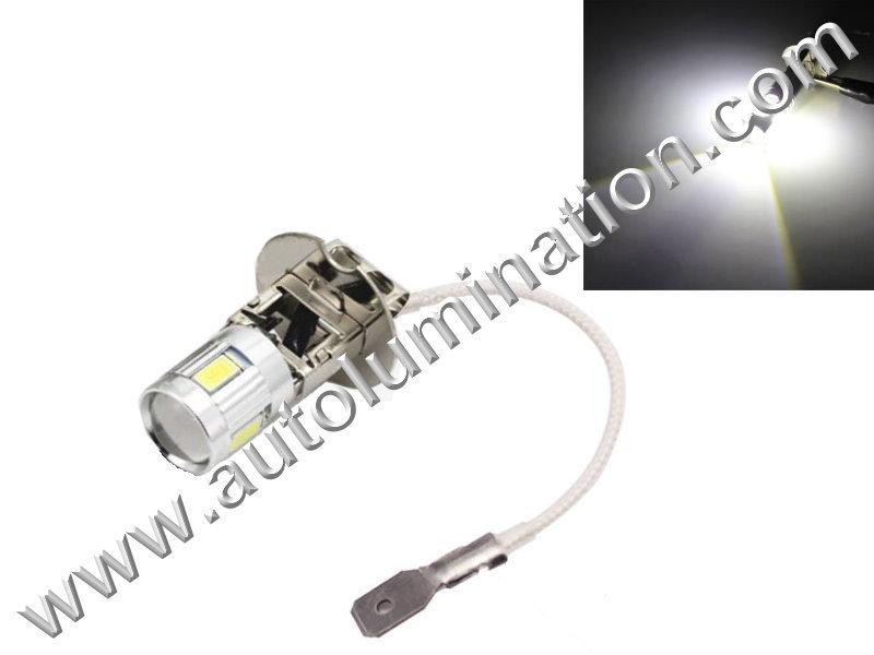 H3 6 Volt 6V Leds for automobile truck fog lights & headlights