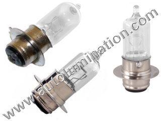#H6M Miniature Bulb Px15d30 Base, 6 Volt, 2.5/1.75 Amp, T15 Halogen, DC Bayonet Base, 500 Hour