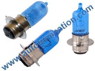 #H6M Miniature Bulb Px15d30 Base, 12 Volt, 3/3 Amp, T15 Halogen, DC Bayonet Base, 500 Hour